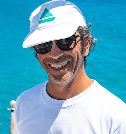 Andrea, Skipper per tour in barca a vela Marina di Teulada, Sardegna